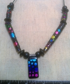 Reversible adjustable custom hand made necklace nc140